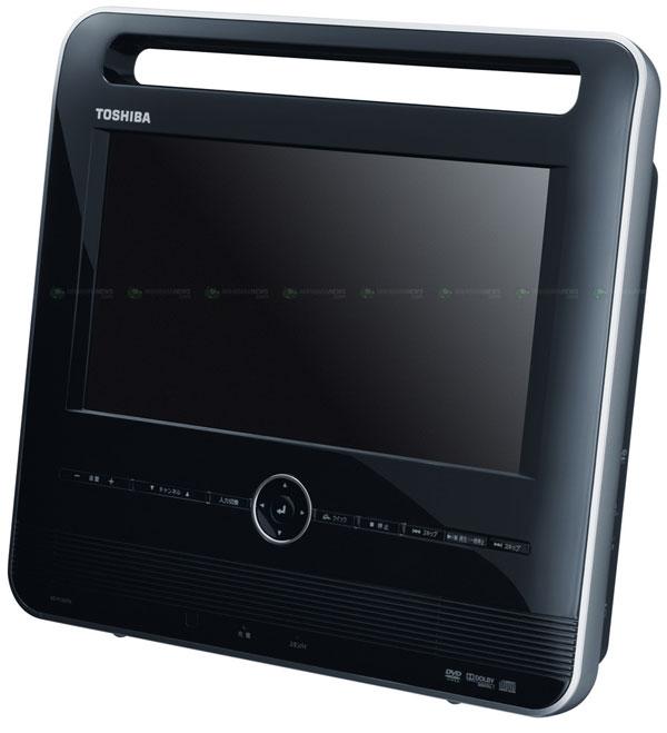 Toshiba SD-P12DTK, un reproductor portátil de DVD tan caro como pobre en prestaciones