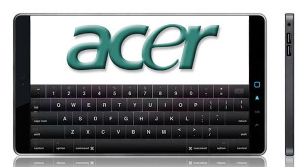 Acer lanzará un lector de ebooks y un dispositivo tableta como el de Apple
