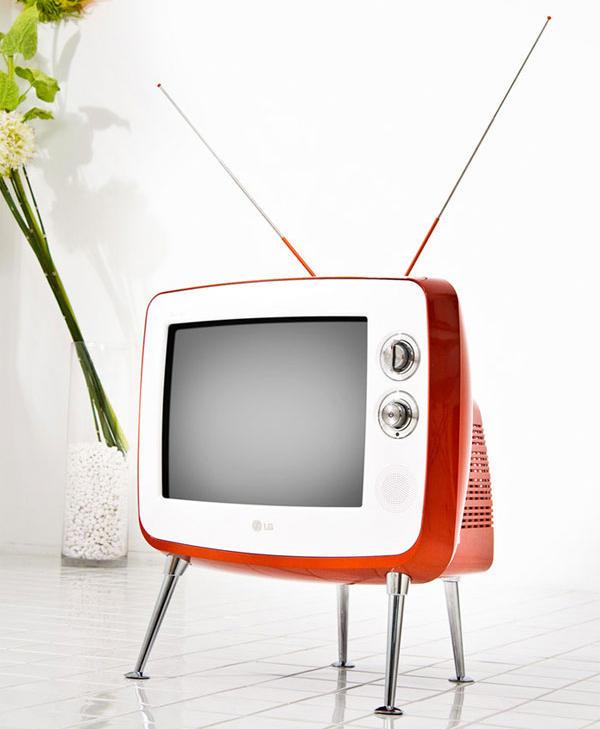 LG Serie 1, un televisor de tubo para viajar atrás en el tiempo
