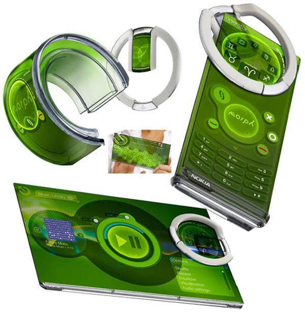 Nokia registra una nueva patente de pantalla flexible para móviles
