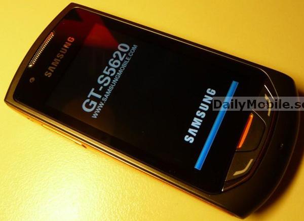Samsung Onix S5620, móvil táctil de gama media