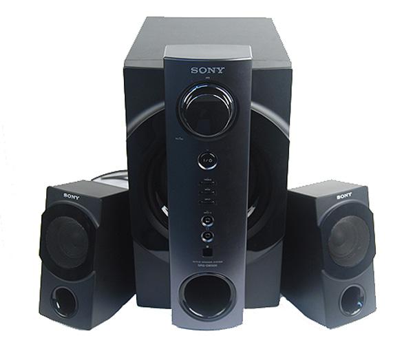 Sony srs db500 altavoces 2 1 con tosco dise o y m s - Altavoces de diseno ...