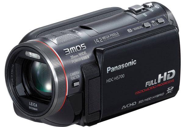 Panasonic HDC-HS700, con esta videocámara la japonesa completa su catálogo FullHD