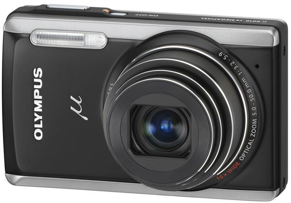 Olympus µ-9010, una cámara compacta de 14 Megapíxeles y zoom óptico de 10 aumentos