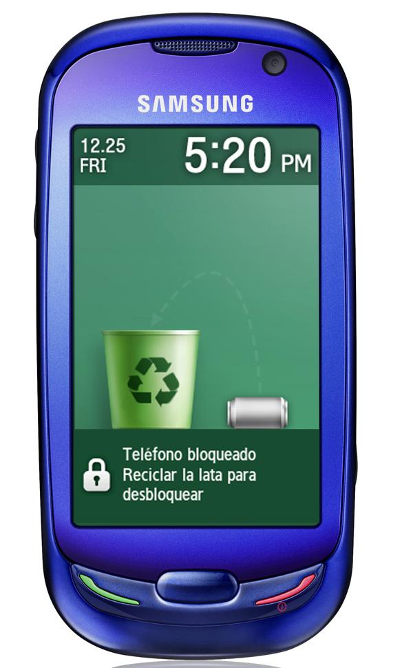 Samsung Blue Earth con Vodafone, un móvil ecológico y con buenas prestaciones