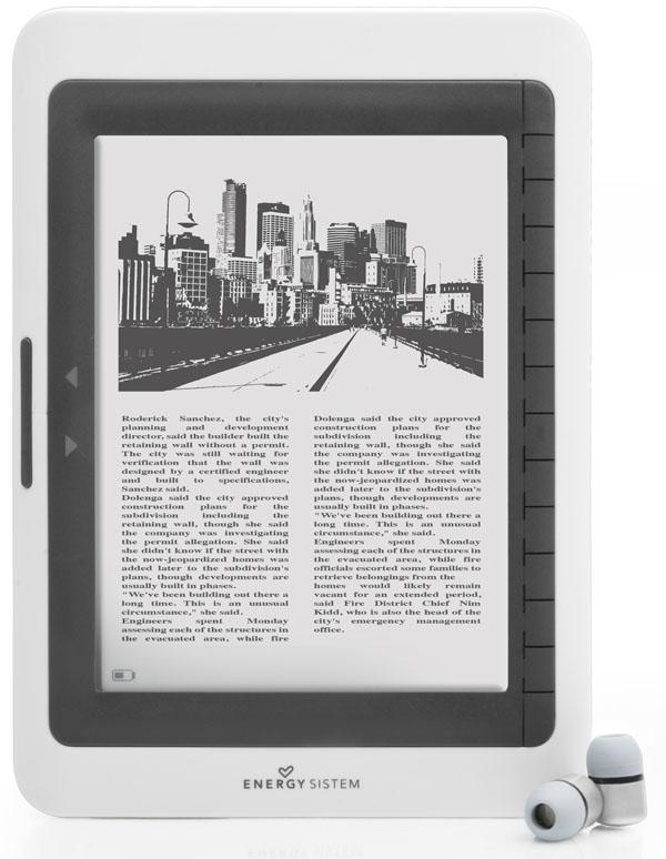 Energy Book 2061, nuevo lector de la casa con pantalla de 16 niveles de grises