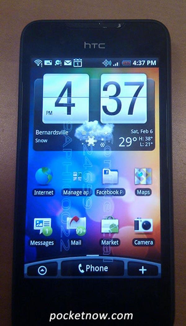 HTC Incredible, pantalla de 3,7 pulgadas y sistema Android para competir con el Nexus One