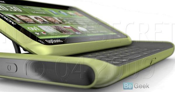 Nokia N98, supuesta imagen filtrada de otro móvil inteligente de los finlandeses