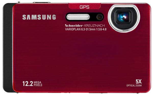 Samsung ST1000, una compacta de lujo con 100 MB de memoria interna