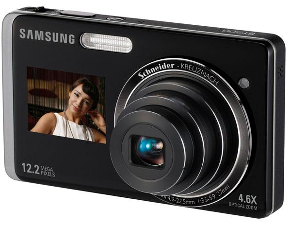 Samsung ST500, una cámara compacta con dos pantallas