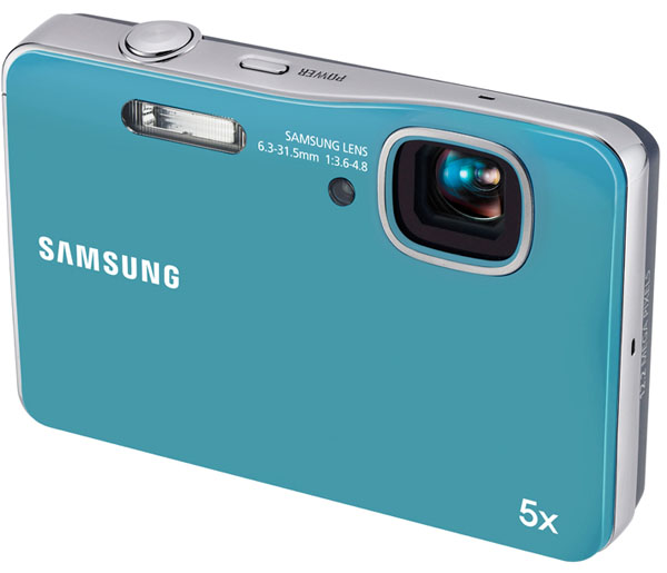 Samsung WP10, cámara compacta resistente a las salpicaduras