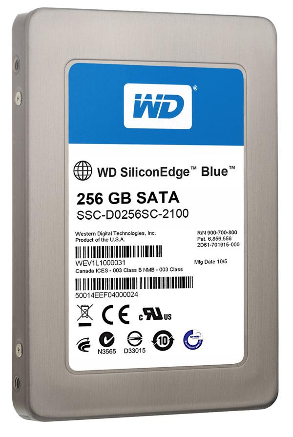 Western Digital Silicon Edge Blue, discos duros SSD de hasta 256 GB de capacidad