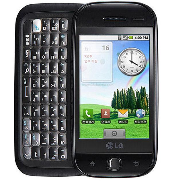 LG KH5200, la coreana lanza su primer móvil con sistema operativo android y teclado qwerty