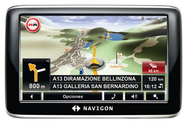 Navigon 6310 Truck Navigation, Nueva edición del GPS con prestaciones para profesionales
