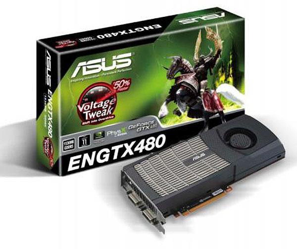 Asus ENGTX480 y ENGTX470, nuevas tarjetas gráficas con GPU nVidia GeForce series 400