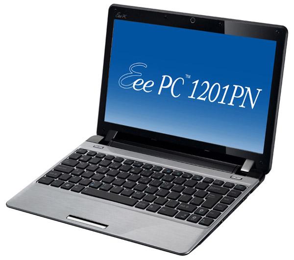 Asus Eee PC 1201PN, un netbook con plataforma gráfica NVIDIA ION