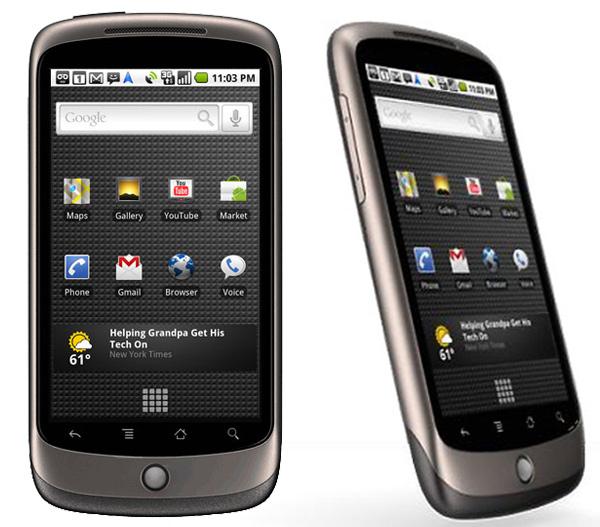 HTC Google Nexus One, Vodafone tendrá que venderlo en Europa a través de la web de Google