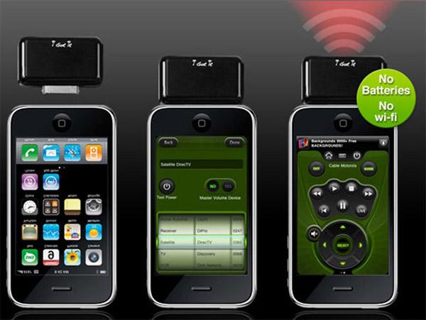 dc67b931a76 i-Got-Control IRB1, convierte el iPhone, el iPod Touch o el iPad en un mando  a distancia universal