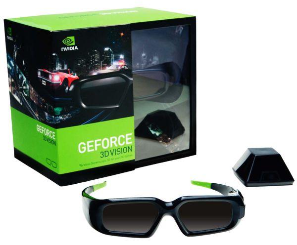 Nvidia 3D Vision GeForce, kit de gafas para imágenes tridimensionales
