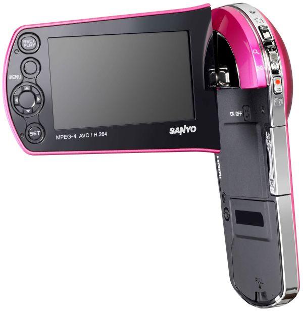 Sanyo Xacti VPC-CS1, completa videocámara muy cómoda de llevar