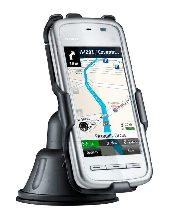 b235fd4274f Nokia 5230, GPS gratis con Nokia Mapas para el Nokia 5230, y ahora, con  accesorios