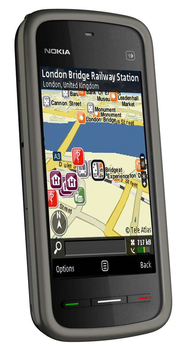af09d5a467e Nokia 5230, GPS gratis con Nokia Mapas para el Nokia 5230, y ahora ...
