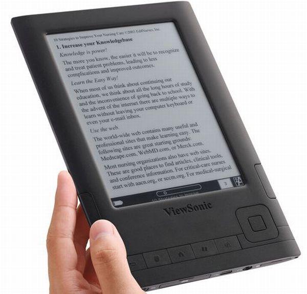 Viewsonic VEB625 y Viewsonic VEB620, lectores de libros electrónicos con pantalla de 6 pulgadas