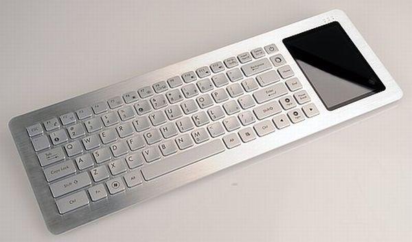 Asus EeeKeyboard, ordenador-teclado para conectar a la tele sin cables