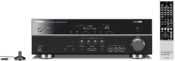 Yamaha RX-V467, excelente amplificador de cine compatible con 3D y con radio