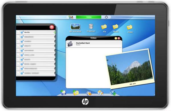 HP Hurricane, el tablet de HP con WebOS que sustituye al HP Slate