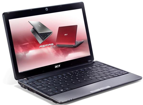 Acer Aspire One 721, un netbook con procesador AMD