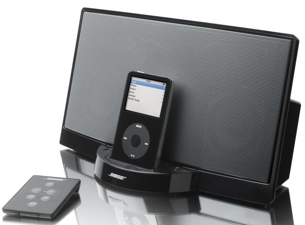 bose sound dock original vitaminas para tu ipod. Black Bedroom Furniture Sets. Home Design Ideas