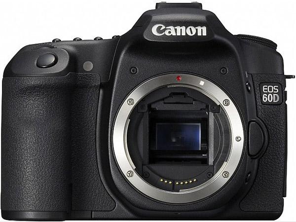Canon EOS 60d, posible cámara réflex de 18 megapíxeles