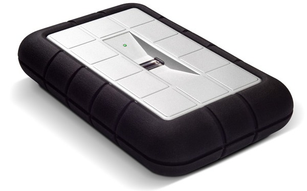 LaCie Rugged Safe, un disco duro portátil con lector dactilar