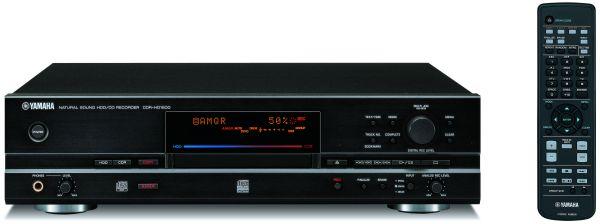 Yamaha CDR-HD1500, un lector de CD con grabadora de disco duro