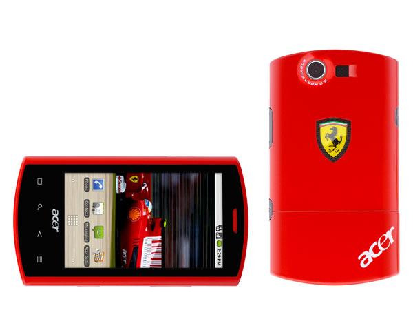 Acer Liquid E Ferrari, un teléfono móvil símbolo de status ...