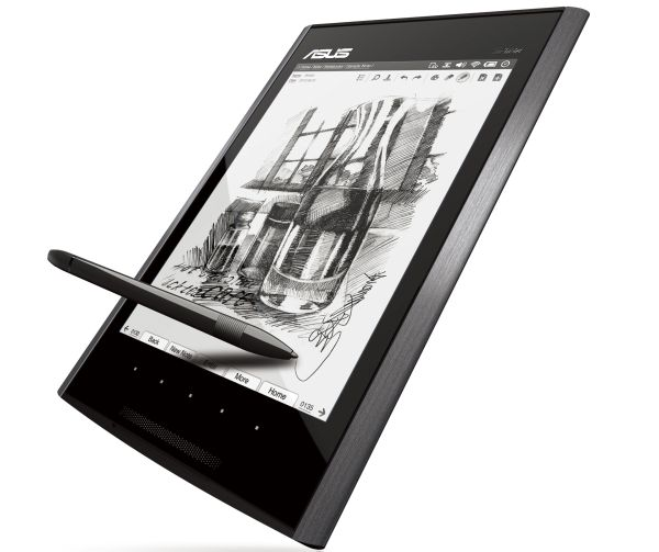 Asus Eee Tablet, bloc de notas digital y lector de libros electrónicos con cámara integrada