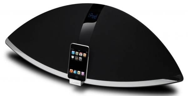 Teac SR-100i, un zepelín sonoro para el iPod