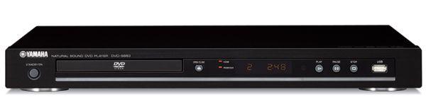 Yamaha DVD-S663 DVD muy compatible con USB en el frontal