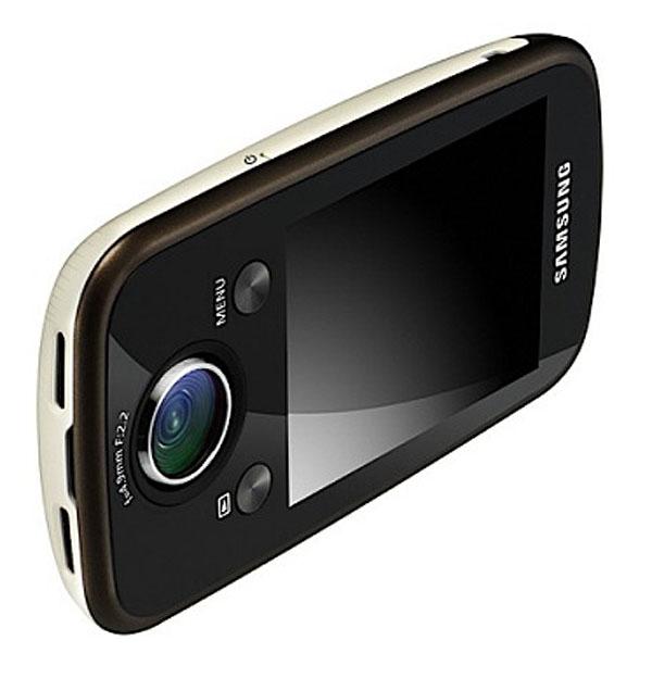 Samsung HMX-E10, videocámara compacta en alta definición con objetivo giratorio