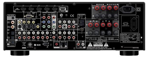 Denon avr 2310 un amplificador de cine dom stico s lido y for Amplificadores de wifi potentes