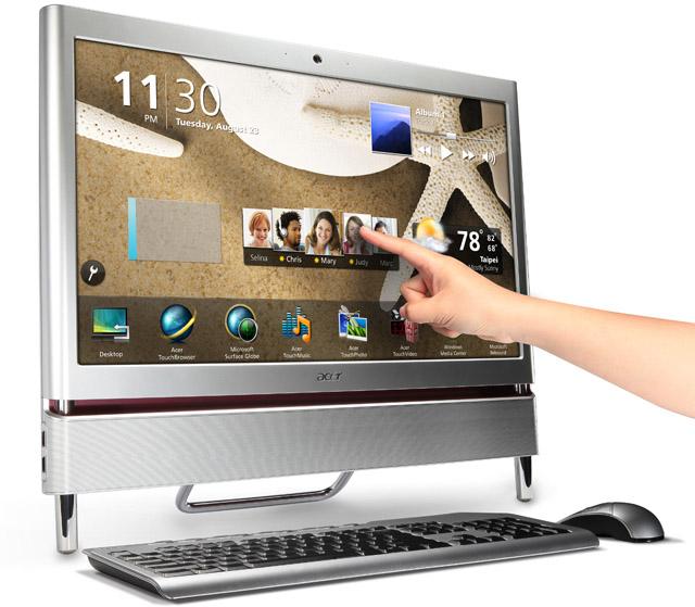 Acer Aspire Z5710, ordenador todo en uno táctil para casa
