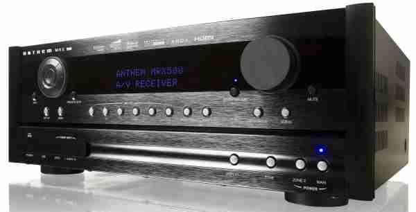 Anthem MRX 500, amplificador de cine con 7.1 canales y compatible 3D