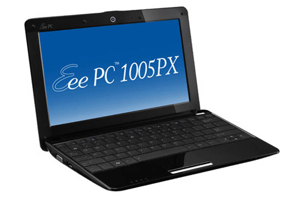 Asus Eee PC 1005PX, netbook al uso con pantalla mate