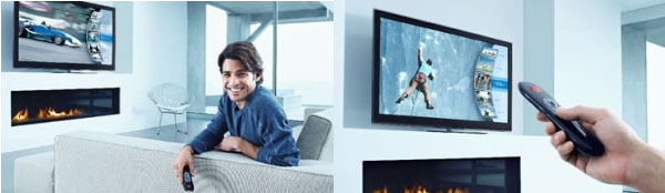 Intel investiga en un mando a distancia para televisor que reconoce al usuario