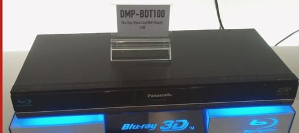 Panasonic DMP-BDT100, reproductor Blu-ray que se apunta a la tendencia 3D