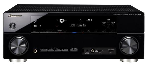 Pioneer VSX-1020, amplificador de cine con 7.1 canales y compatible ethernet