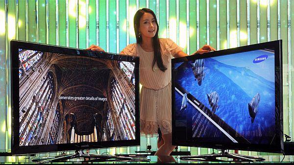 Samsung completa su familia de televisores 3D con dos nuevos plasmas