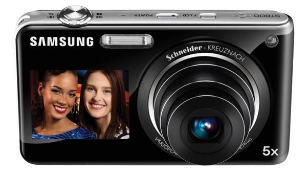 Samsung ST600 y ST100, cámaras digitales con pantalla secundaria frontal