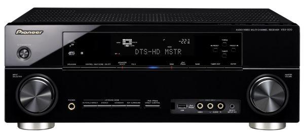 Pioneer VSX-920 y VSX-820, dos amplificadores de cine compatibles con 3D y con Bluetooth